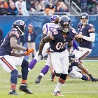 Bears smack Vikings to regain first place