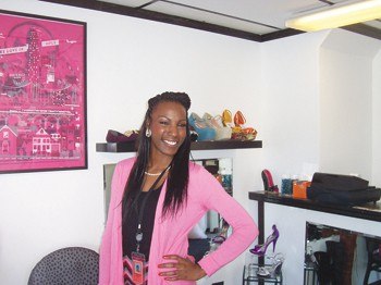 Tashawna Williams is owner of Divas In Motion. Photos by Jamal Denman