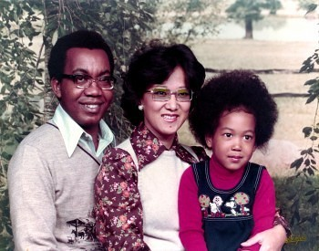 Eliaichi Kimaro (inset and far right in childhood photo with her parents) reveals family and personal secrets of sexual violence  in her documentary A Lot Like You.