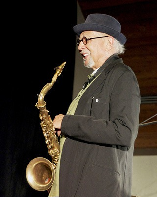 Charles Lloyd Photo by D. Darr