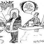 This week's Editorial cartoon, by Ed Fischer