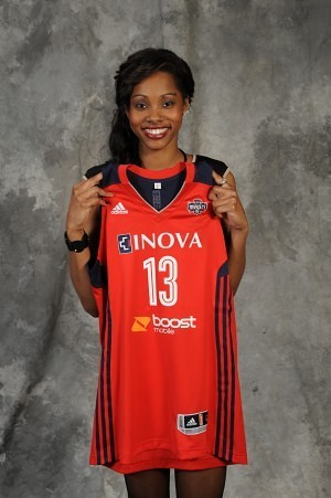 Tayler Hill joins the Mystics. Photo courtesy of the NBA