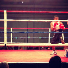 Samuels officiating the Elite Men division semifinals match at 2013 USA Boxing National Championships