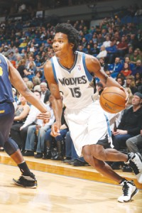 Mickael Gelabale Photos courtesy of Timberwolves