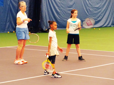 Tennis2College participants Photos by Charles Hallman