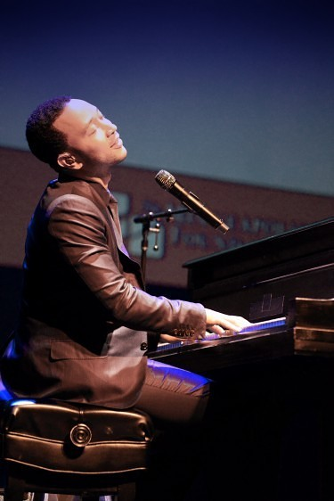 John Legend performing at Fitzgerald Theatre Photo by Keith Tolar