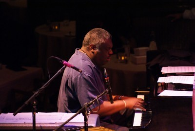 Mulgrew Miller at the  Dakota, 2009 Photo by Jamal Denman