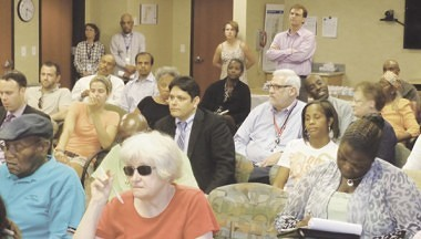 Approximately 30 people were in attendance at the July 2 NorthPoint ACA forum.