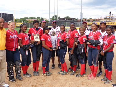 This year's RBI Softball World Champions  Photo by Charles Hallman