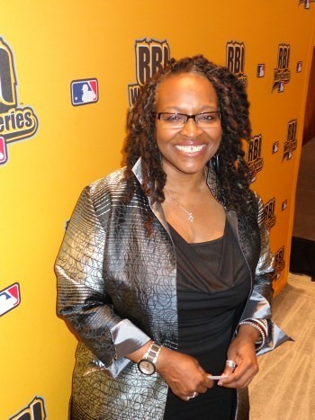 Wendy Lewis, senior vice president of Major League Baseball Diversity and Strategic Alliances Photo by Charles Hallman