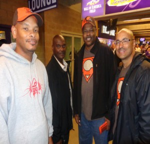 L-R: KL Jones, C. Johnson, JT Jones, and C. Donaldson