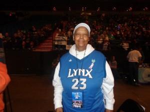 Lynx fan Danita Banks