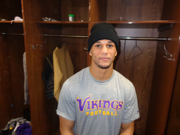 Vikings special teams player Marcus Sherels