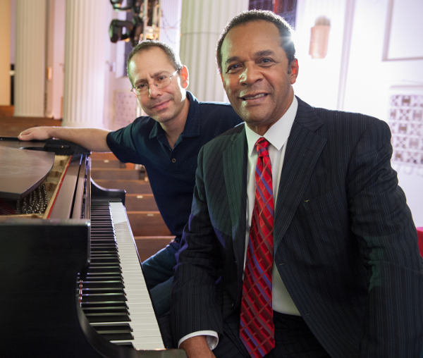 Steve Ordower with Clifton Davis