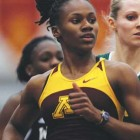 U of M sprinter 'going with the flow'
