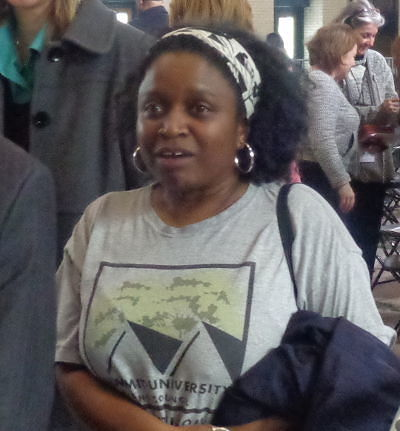 Community organizer Veronica Burt