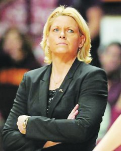 Former Gophers coach Pam Borton Photo courtesy of U of M