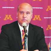 U of M Athletic Director Norwood Teague U of M Athletic Director Norwood Teague