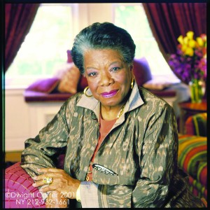 Dr. Maya Angelou Photo by Dwight Carter