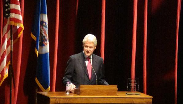 President Bill Clinton Photos by Onika Nicole Craven