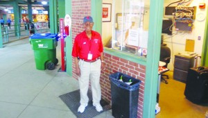Al at his Fenway work station Photos by Charles Hallman
