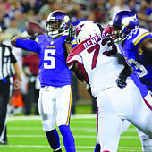 Teddy Bridgewater delivers under pressure Photo by Steve Floyd
