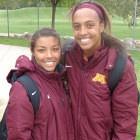 Rashida Beal (l) and Simone Kolander