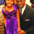 Terry Austin and his daughter