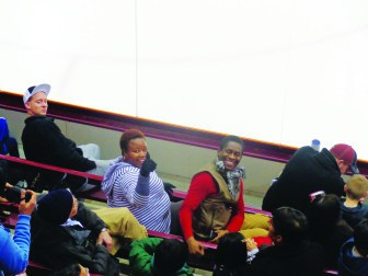 Black hockey fans still scarce