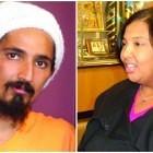 Rahsaan Mahadeo (l), Katrice Albert (r)