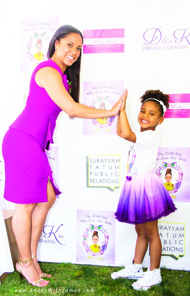 Tiffney Cambridge and daugther