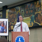 Yesterday, joined by civil rights leaders, students, and educators, Secretary of Education Arne Duncan commemorated the 50th anniversary of the Elementary and Secondary Education Act (ESEA), at the Martin Luther King Jr., Memorial Library in Washington, D.C.