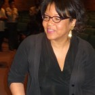 Helene Cooper at MPR News' Broadcast Journalist Series at St. Thomas University, May 9 event.