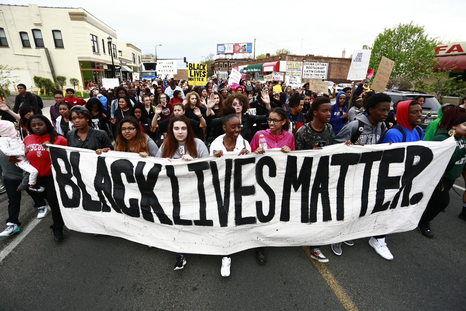 Black Lives Matter/May Day Event, May 1, 2015