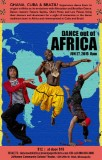 Dance Out of Africa Flyer