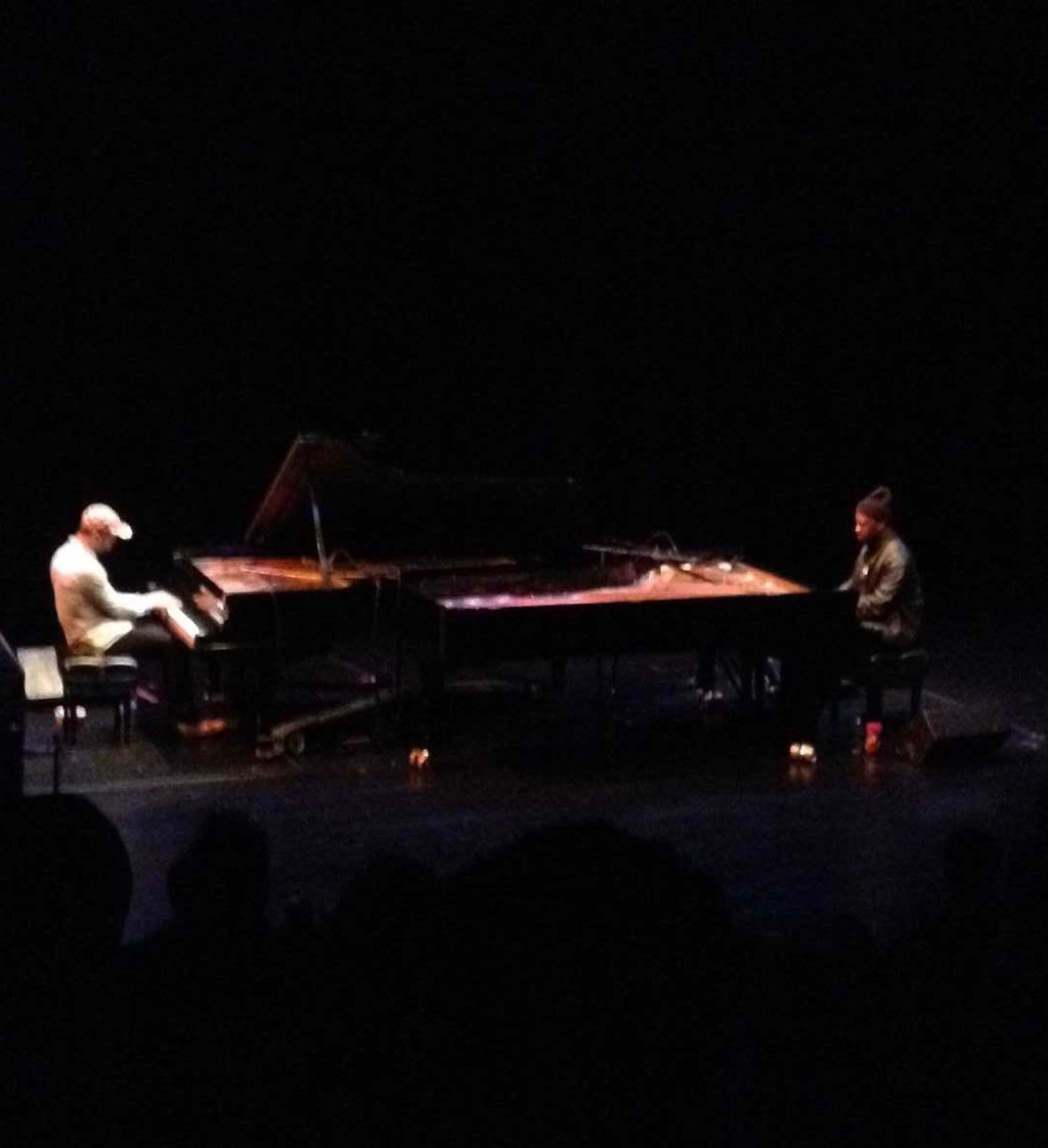 Jason Moran and Robert Glasper at the Walker Art Center on Saturday, May 2, 2012