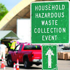 Waste collection sign