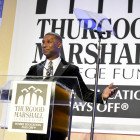 Johnny Taylor, the president and CEO of the Thurgood Marshall College Fund (TMCF), speaks during the TMCF 26th Annual Awards Gala in Washington, D.C. (Freddie Allen/NNPA News Wire)