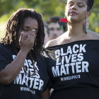Black Lives Matter protest in St. Paul, August 10