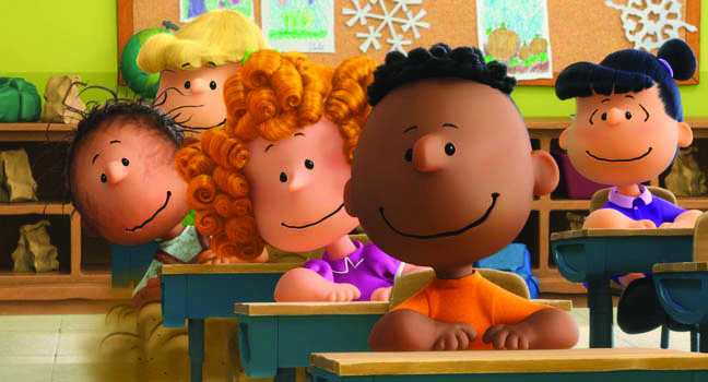 The Peanuts movie opens November 6.