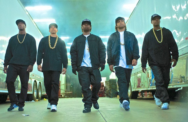 Straight Outta Compton made the cut as one of the best movies of 2015.