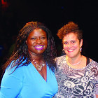 Nekima Levy-Pounds and Signe Harriday