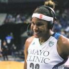 MN Lynx forward Rebekkah Brunson
