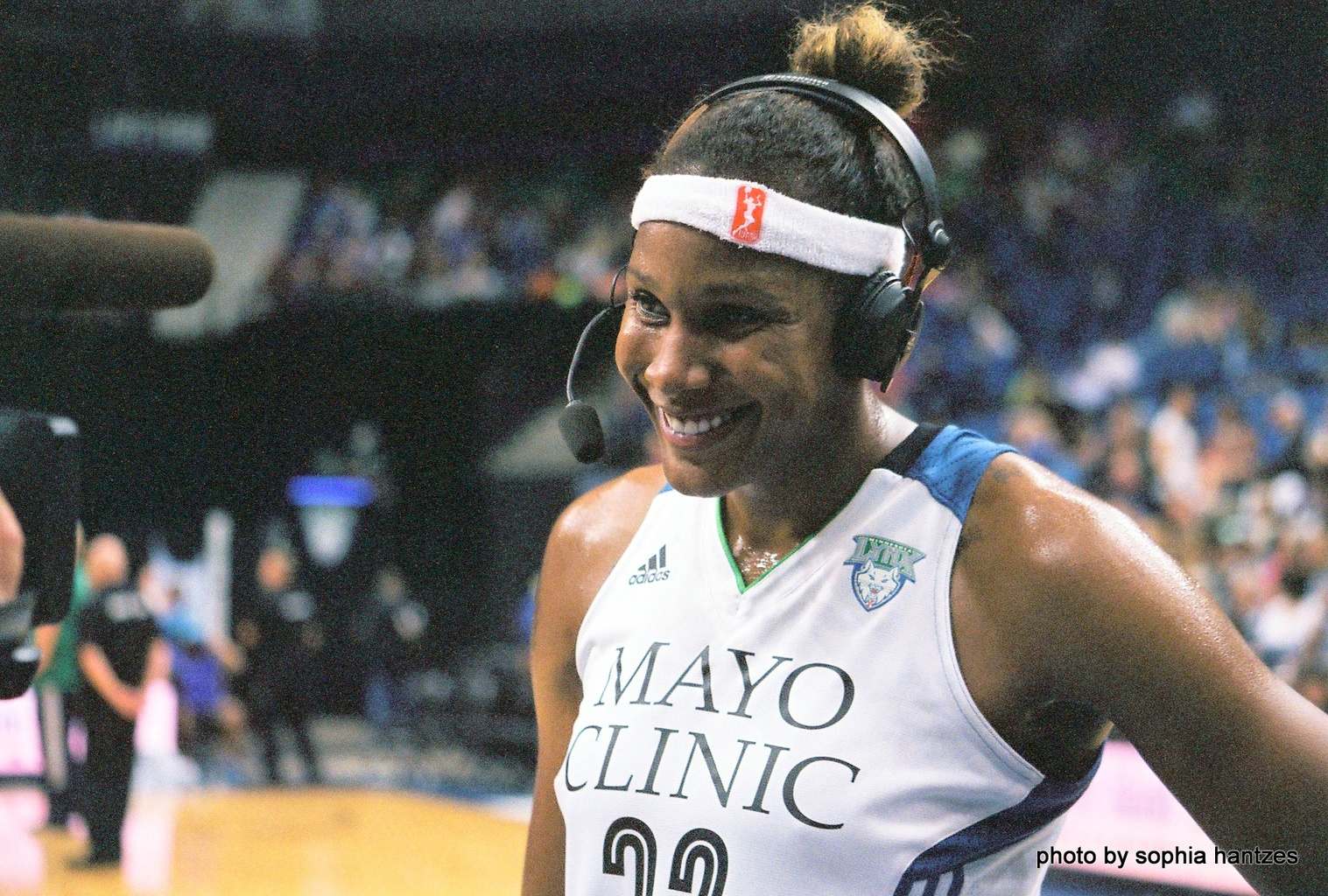 MN Lynx forward Rebekkah Brunson