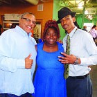 (l-r) T.C. Ellis, Jaquesha Johnson and David Anderson, advisors and youth event coordinators.