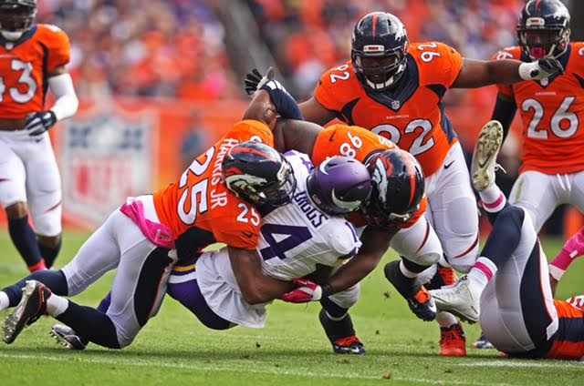 Broncos sack Vikings