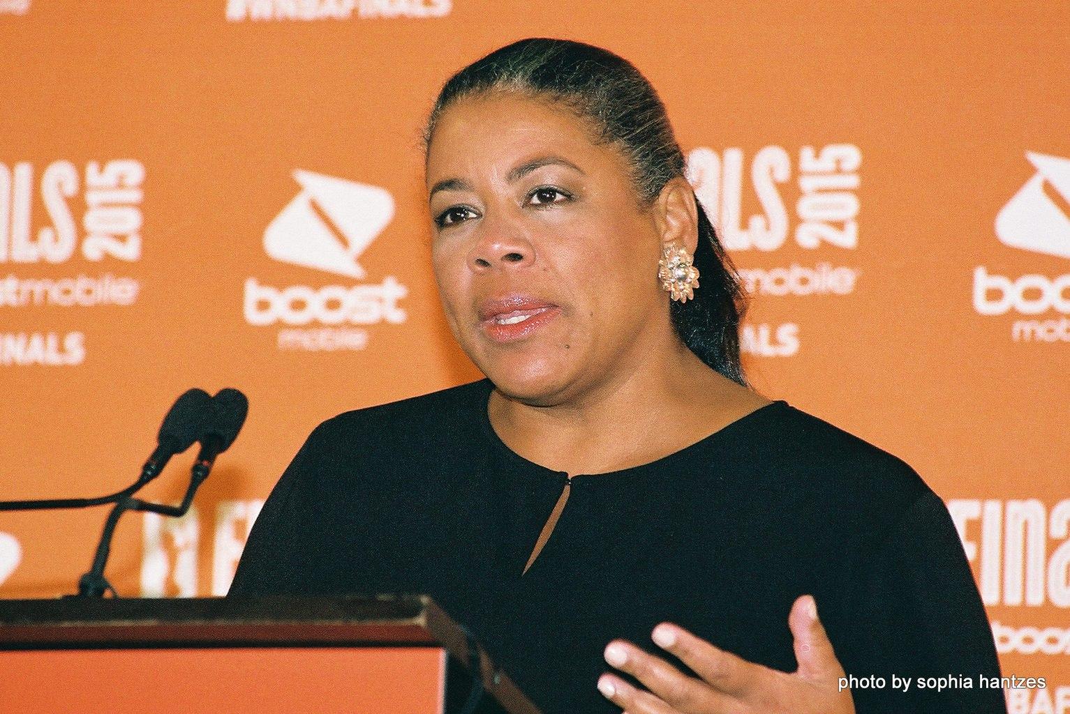 WNBA President Lauren Richie