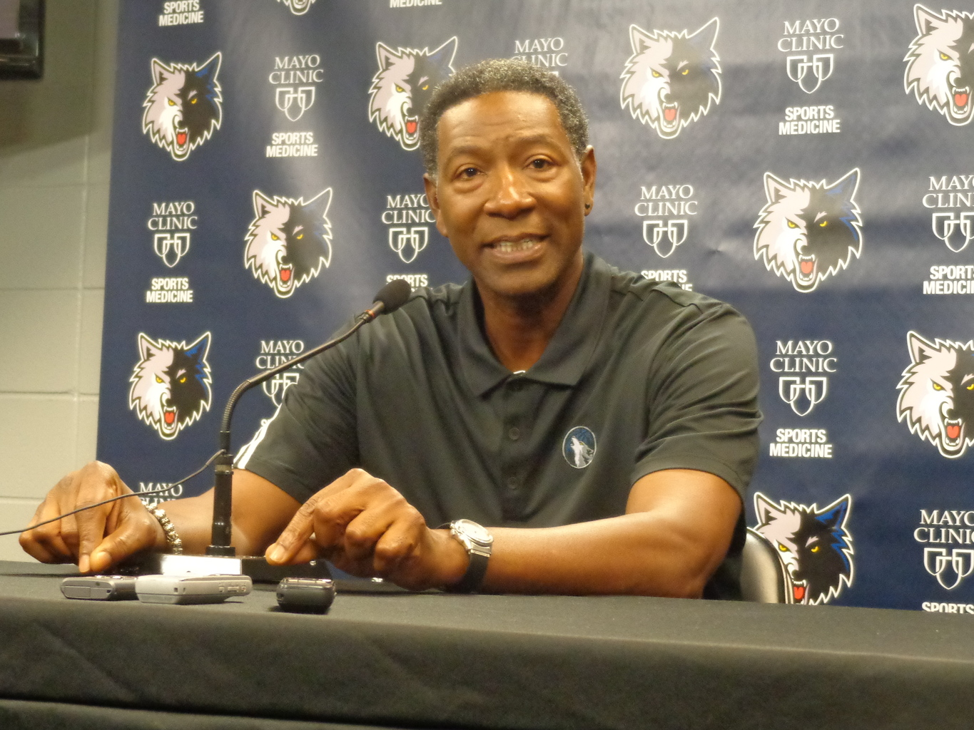 Sam Mitchell has served as the interim coach since September and will serve as season coach in light of Flip Saunders passing.