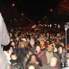 Alexander Clark, Jamar Clark's cousin speaking to the crowd, November 24.