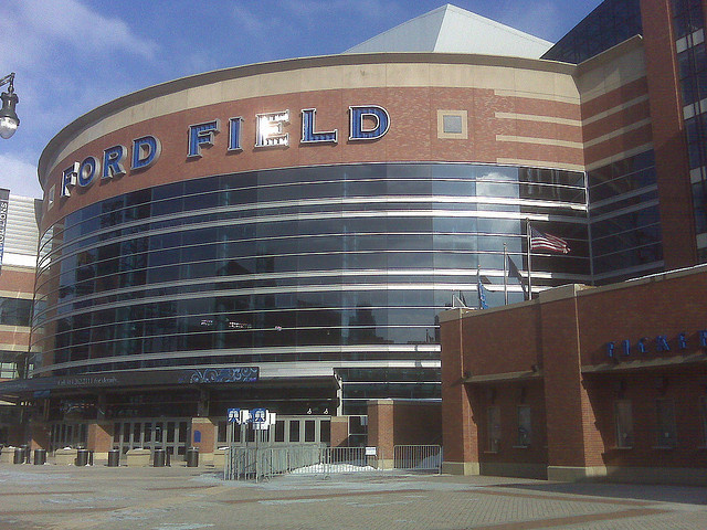 Ford Field (Photo by (Debra Drummond. License CC 2.0 via Commons_